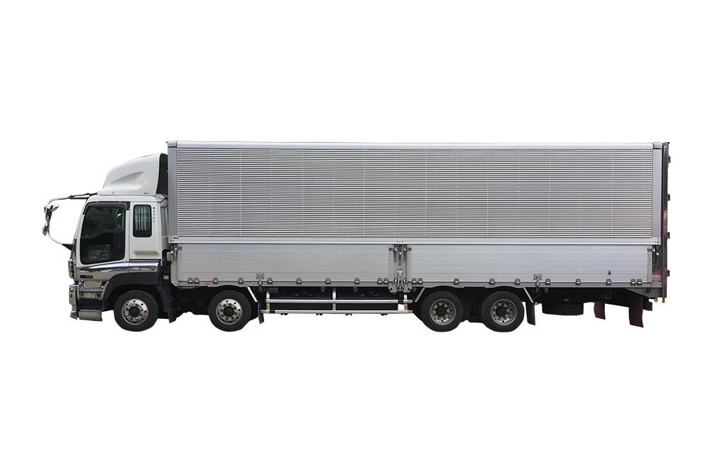 10tトラック ウィング箱車