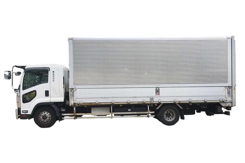 4tトラック ウイング箱車